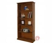 Biblioteca madera sin puertas